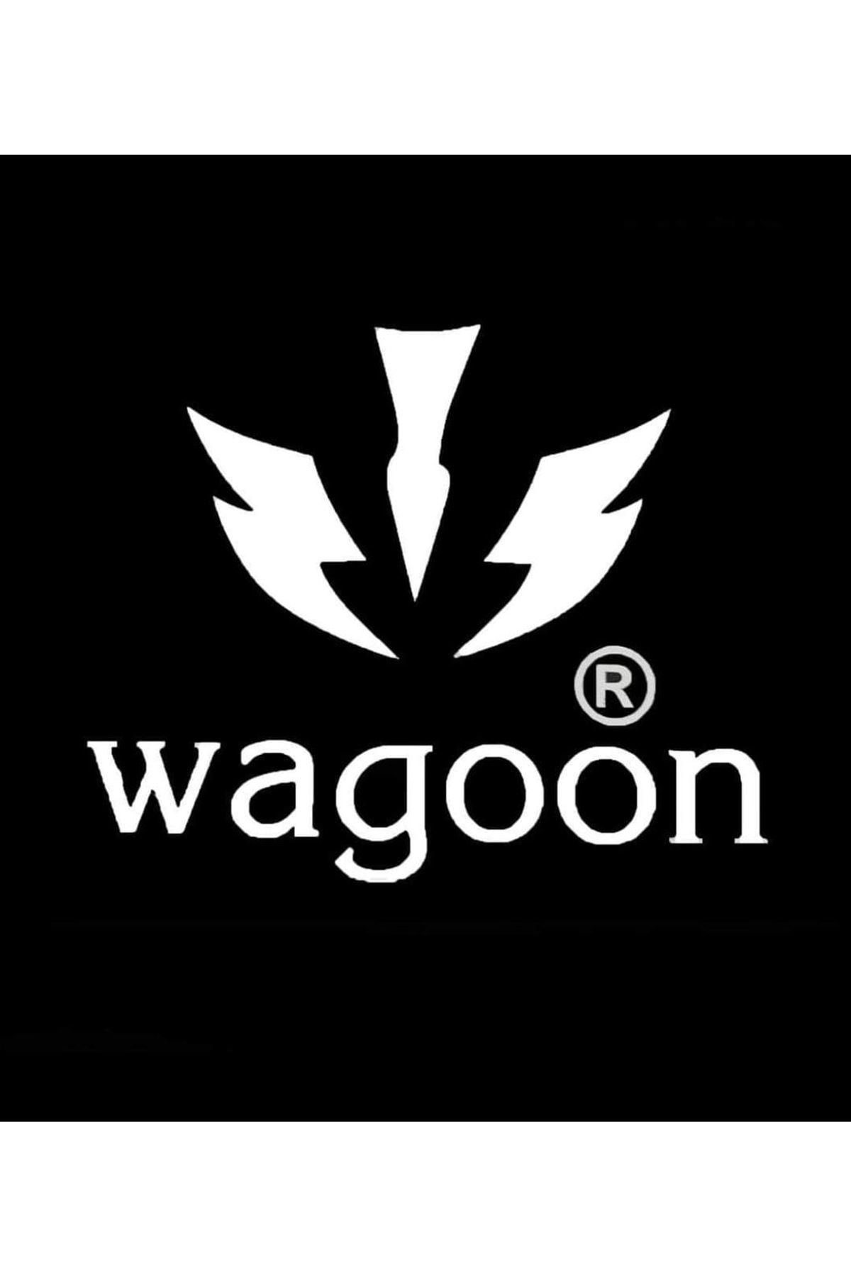 Wagoon WG Siyah Sarı Yüksek Taban Casual Erkek Ayakkabı
