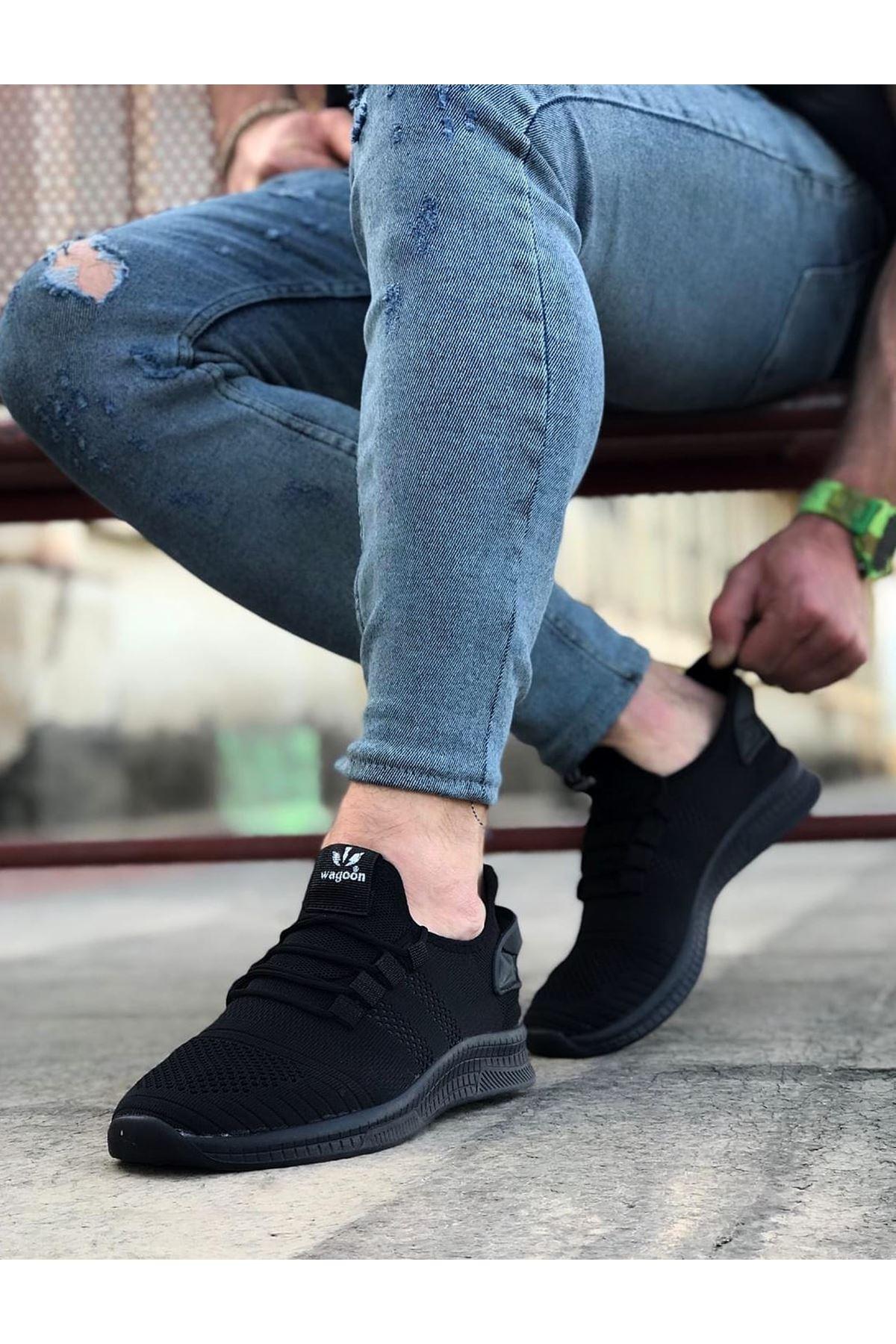 Wagoon WG101 Kömür Erkek Spor Ayakkabı