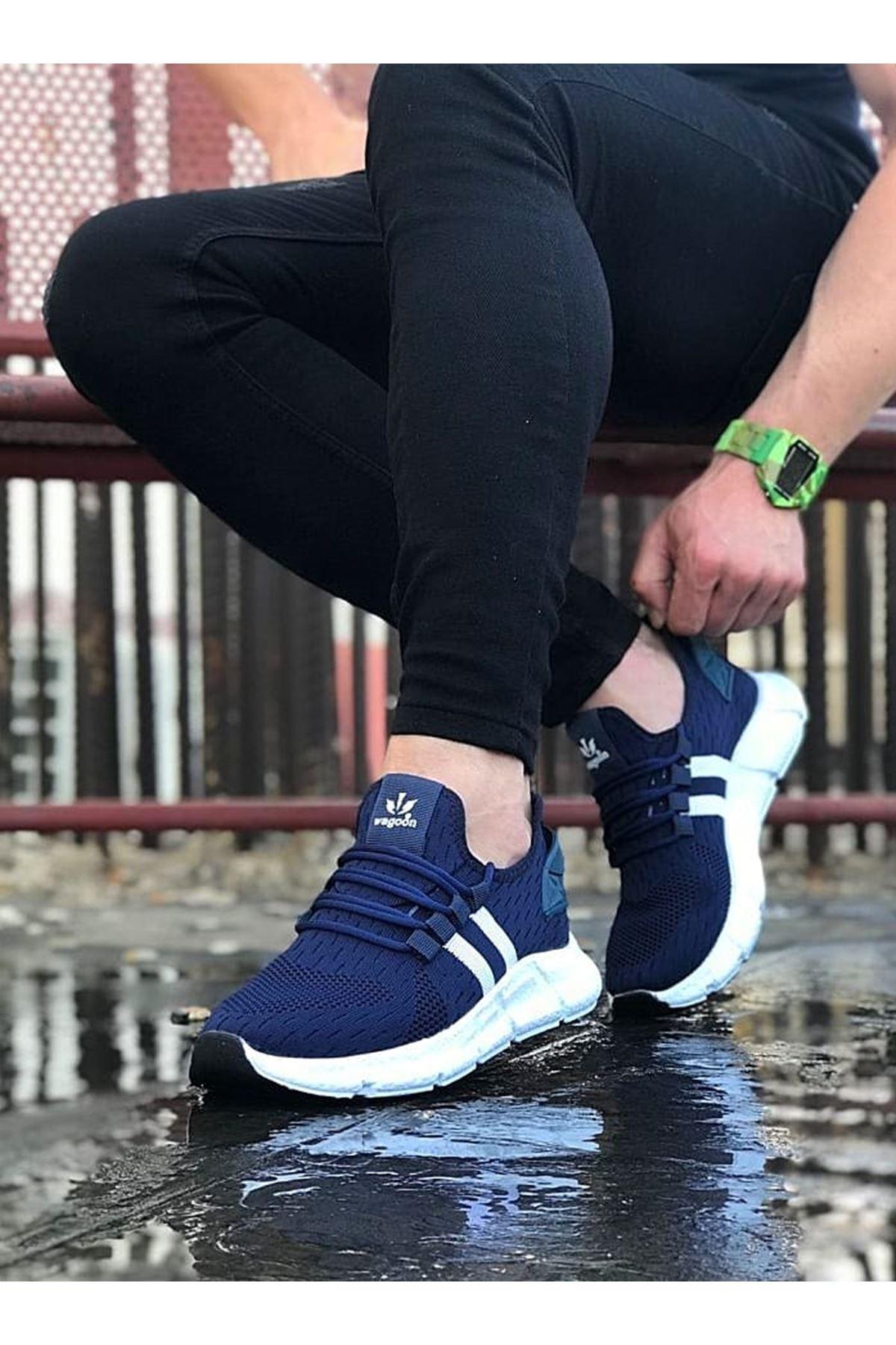 Wagoon WG102 Lacivert Erkek Spor Ayakkabı