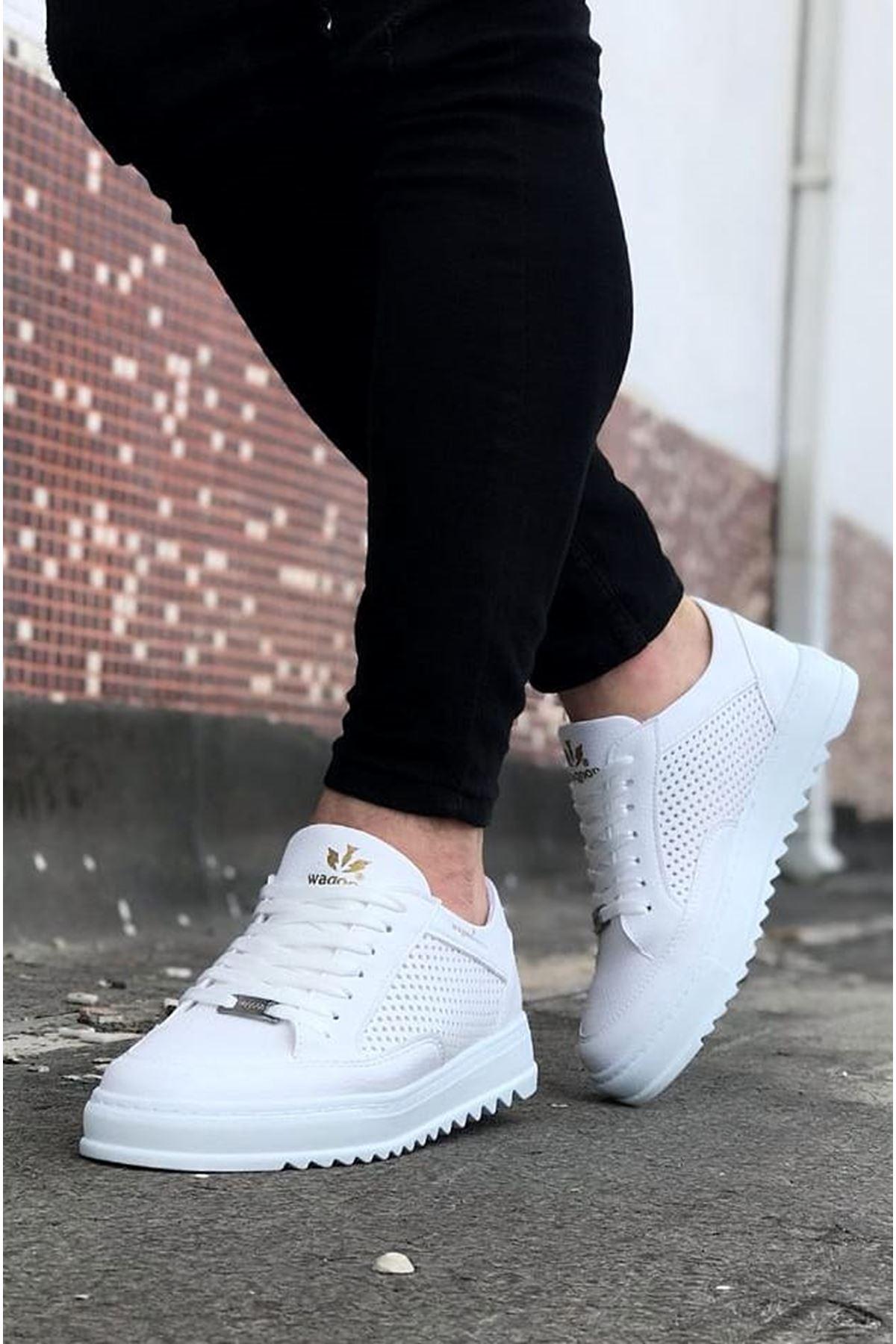 Wagoon WG505 Beyaz Erkek Günlük Ayakkabı